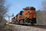 Rolling east at track speed, Z-LACWSP9 heads for Chicago