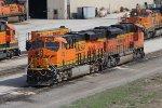 BNSF 4282 & 9238