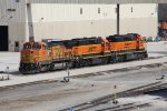 BNSF 530, 2564 & 1895