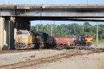 UP 7805 and KCS 4161