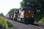 BNSF3736, BNSF7387, BNSF5269 and BNSF7873 crossing Whitesboro Street
