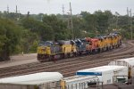 CSX451, UP739, HLCX6334, IHB2142, UP1755, UP2007 and UP6546