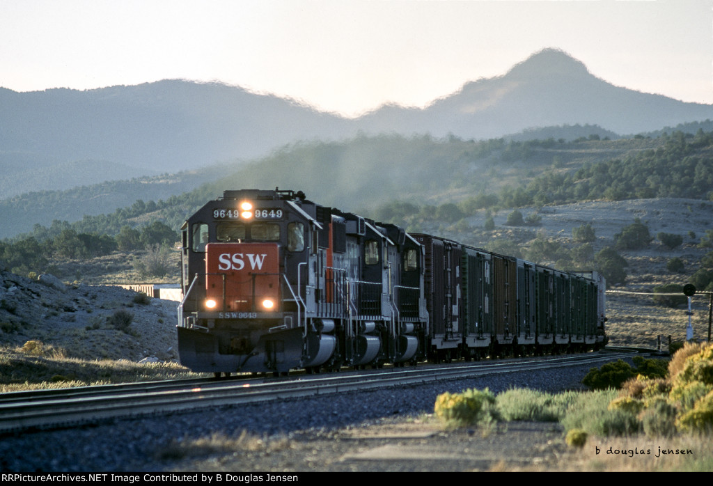 SSW 9649 at Cobre, NV