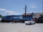 EMD and a Ford