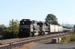 NS 6998 & 2718 lead train 19G westbound