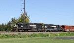 NS 6698 & 6140 lead train H68