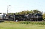 NS 9398 & 7605 lead train 18N