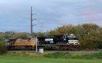 NS 9652 leads train 20E