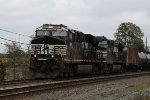 NS 8091 & 9600 lead train 65K
