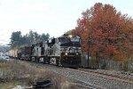 NS 7670 leads train 16N