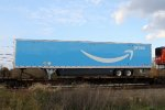 Shiny Amazon trailer on train 20K