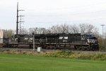 NS 3672 & 8321 lead train 20K eastbound