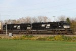NS 6973 & 6723 lead train 20W eastbound past the 26.2E signal