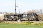 NS 2645 & 9316 lead train 18N past the 26.2E signal