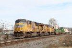 UP 3926, 7660, & 4029 lead NS train 211