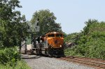 NS 1071 leads train 20K eastbound