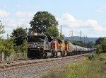 NS 1033 leads train 65E