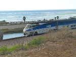 The Pacific Surfliner living up to it's name