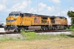 Union Pacific's AC44CW 6776 with 7204 in CSX' Gentilly Yard