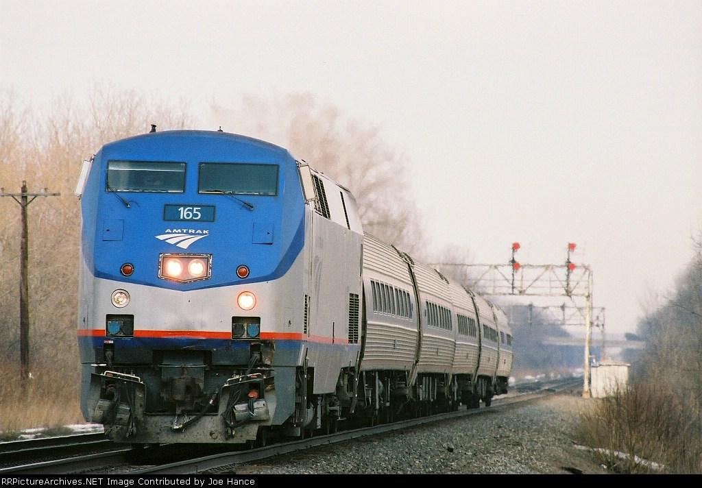 Amtrak 63 at Jordan, NY