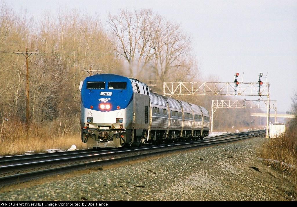 Amtrak 281 at Jordan, NY