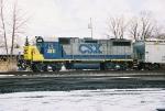 CSX B780 at Dewitt, NY