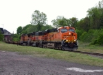 NS 212 Is All-BNSF Including GP60B @ 1644 hrs.