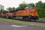 Newer BNSF GEVO In Newest Scheme 1644 hrs.