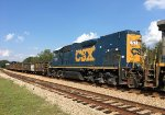 CSX 1511 was along for the ride
