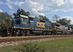 CSX 1511 and 7867 tagging along for the ride