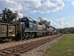 CSX GP15T 1511 was along for the ride
