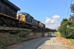 CSX C40-8W 7867 and GP15T 1511 run 7th and 8th