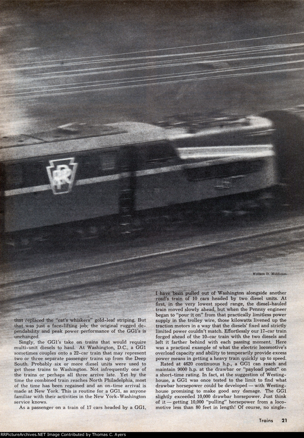 Story Of The GG-1, Page 21, 1964