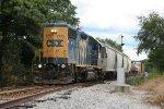 CSX GP38-2 2770 rolls out to clear a switch
