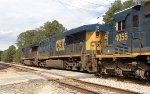 CSX 996, 5359, and 4055 roll across Goodson Rd