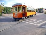 Diesel trolley from Johnstown PA