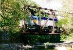 Crossing the Esopus Creek