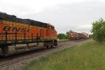 BNSF 6559 West Meets BNSF 743 East