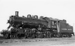 CP 4-6-0 #834 - Canadian Pacific