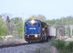 NS 6715 38J heads into Jackson from Wayne