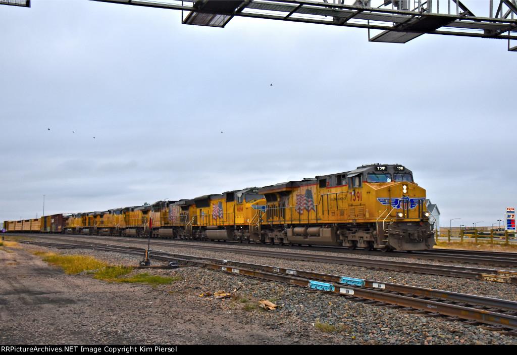 UP 7391 EB Laramie Sub