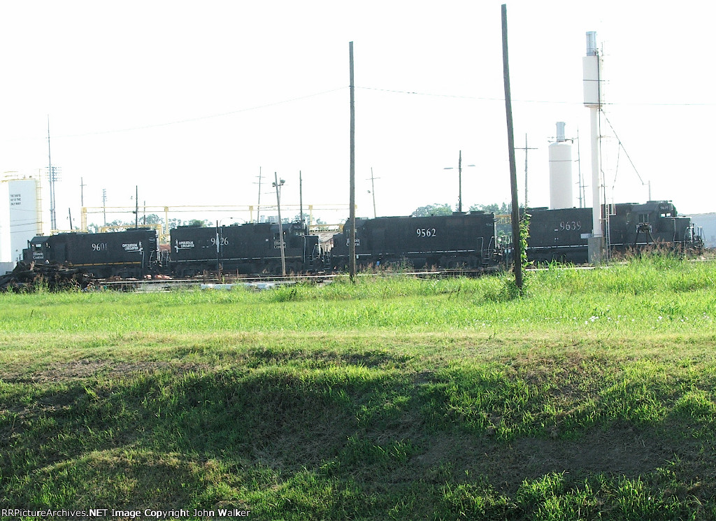 CN engine yard in Metairie