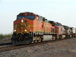 Northbound BNSF freight south of Wichita Falls, Texas