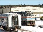 Ex-Amtrak 295 and Caltrain V305