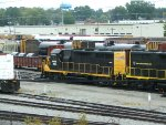 WAMX 3903 in the old GM&O yard