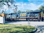 CSX 706 as trail unit
