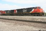 CN power for SB freight