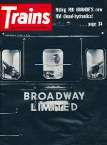 """The Broadway Limited,"" Front Cover, 1962"