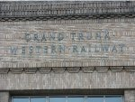 Grand Trunk Western Railway lettering on former Union Station