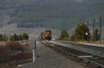 BNSF 4341 comes up the hill